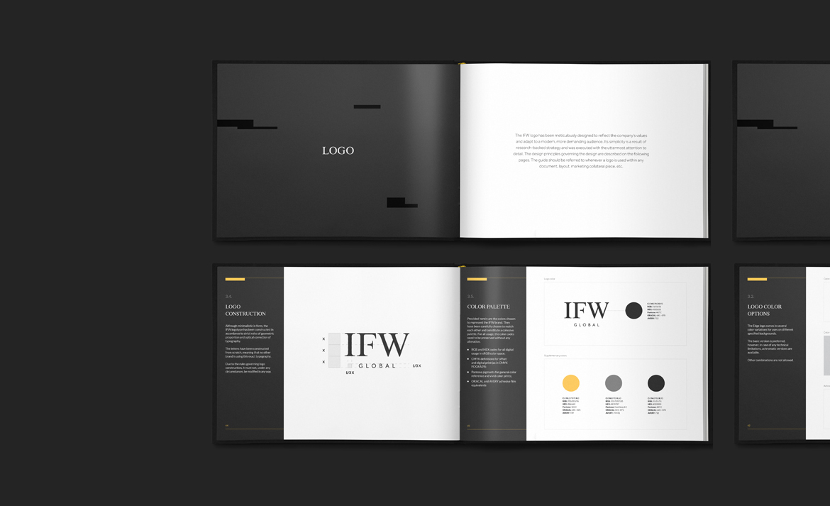 IFW Global_Brand Book by Dawid Koniuszewski Design