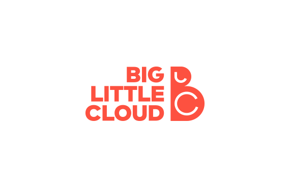 Big Little Cloud Logo_by Dawid Koniuszewski Design