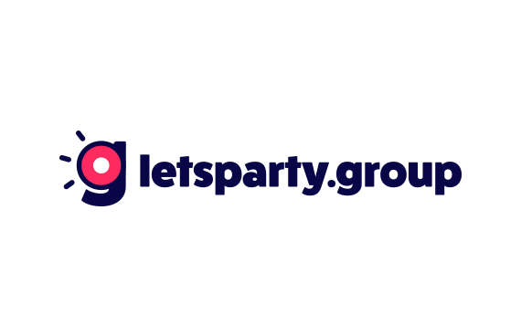 Let's Party Group_Logo by Dawid Koniuszewski Design