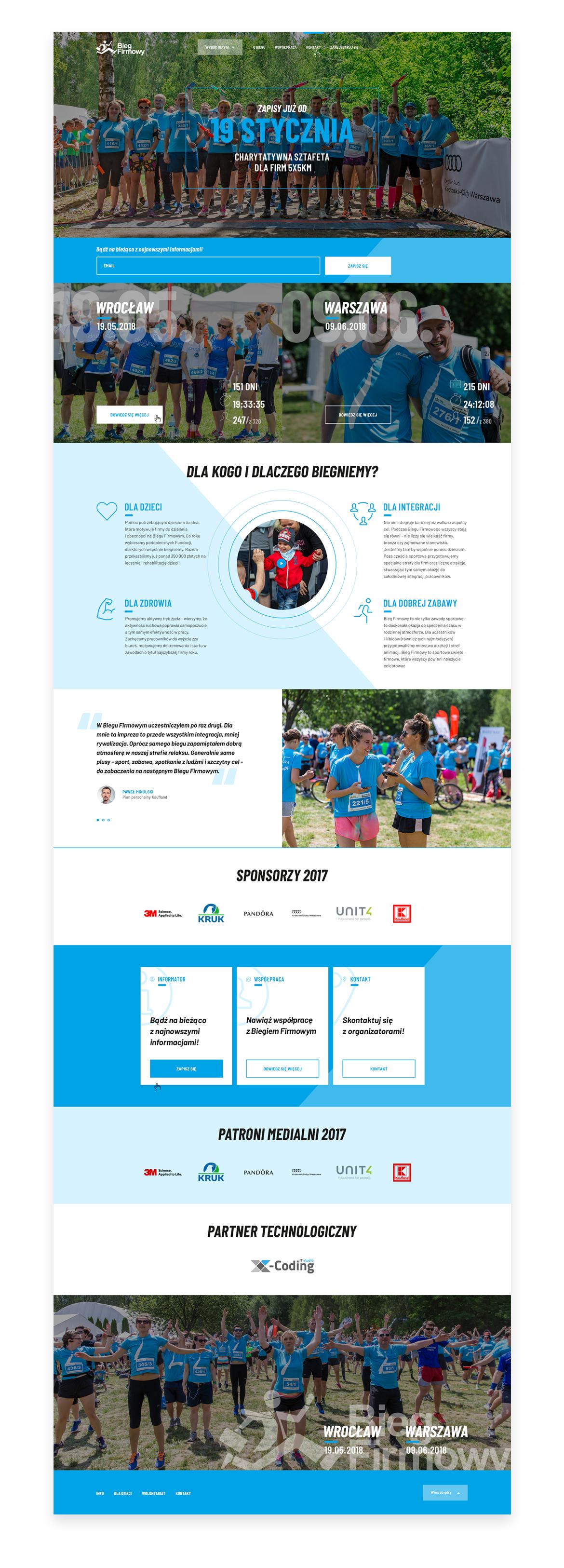 Bieg-Firmowy_home-page-website-by-Dawid-Koniuszewski-Design