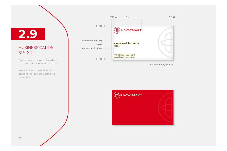 Hayatmart brand book 1 by Dawid Koniuszewski Design