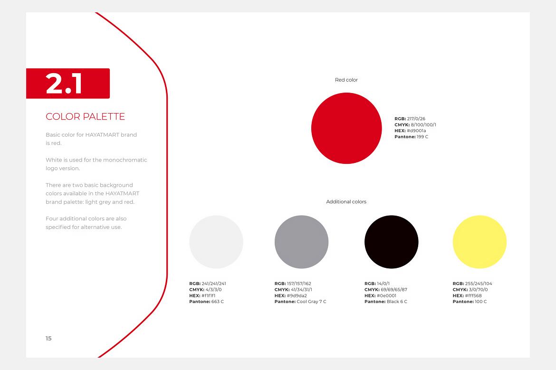 Hayatmart brand book 2 by Dawid Koniuszewski Design