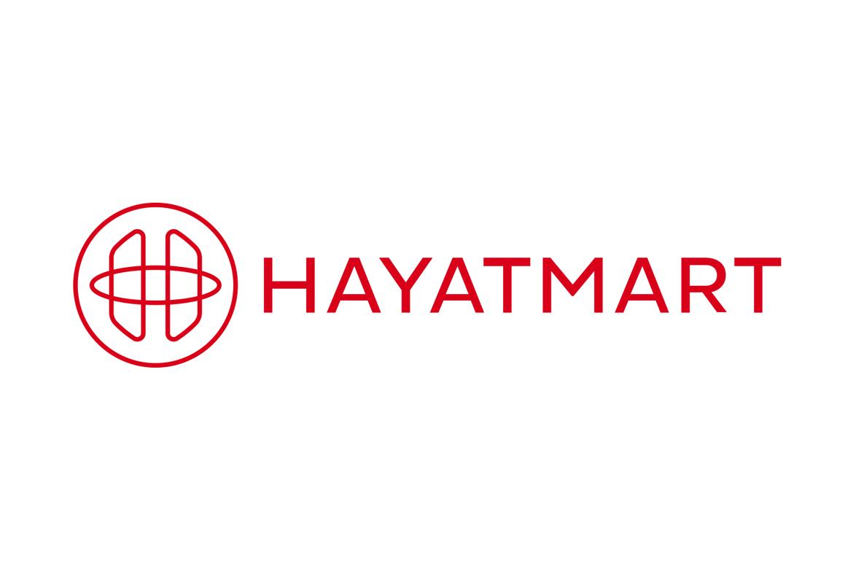 Hayatmart logotype by Dawid Koniuszewski Design