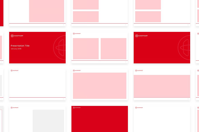 Hayatmart powerpoint template by Dawid Koniuszewski Design