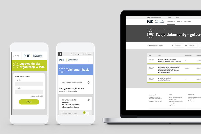 PUE Responsive web design by Dawid Koniuszewski Design