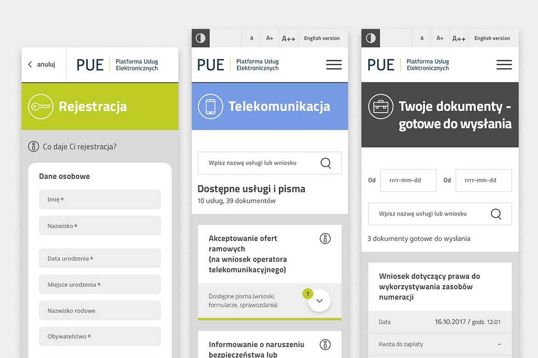 PUE Responsive web design_Homepage by Dawid Koniuszewski Design