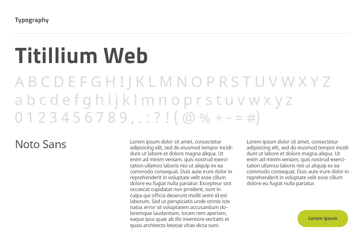 PUE Website typography by Dawid Koniuszewski Design