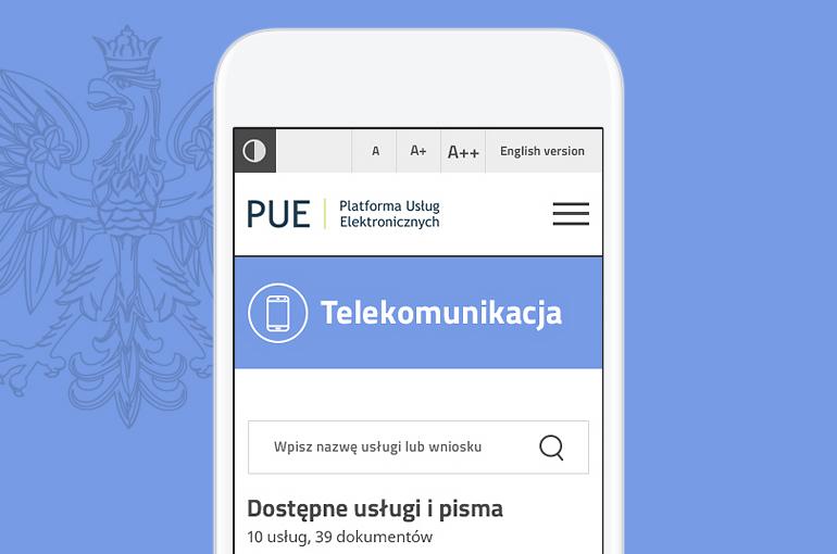 PUE – The Electronic Services Platform