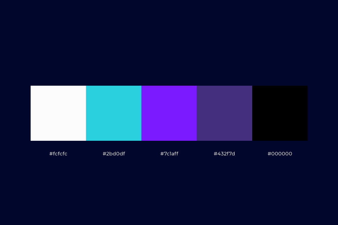 Talenger color palette by Dawid Koniuszewski Design
