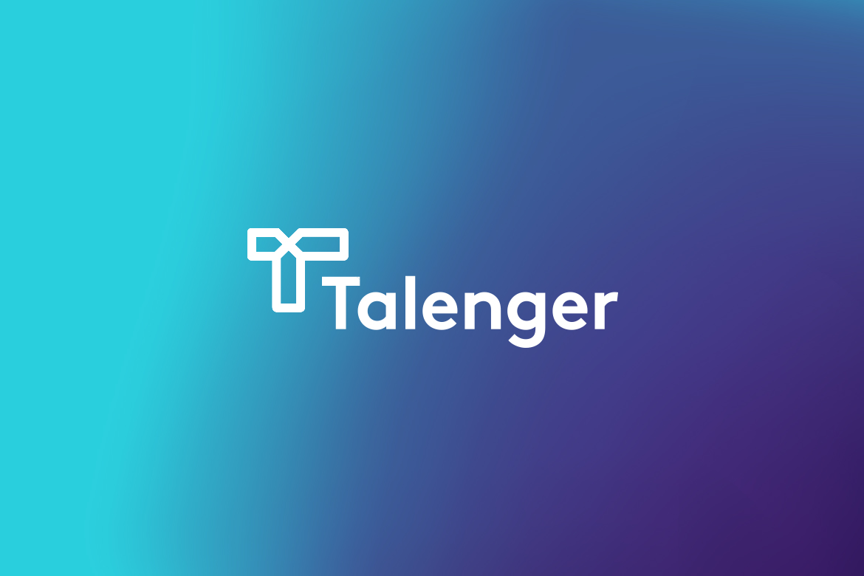 Talenger logo by Dawid Koniuszewski Design